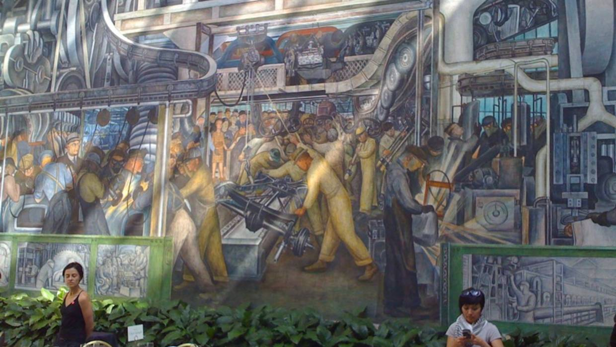 Detroit's Murals, by Diego Rivera - Photo by Ryan Griffis - Flickr
