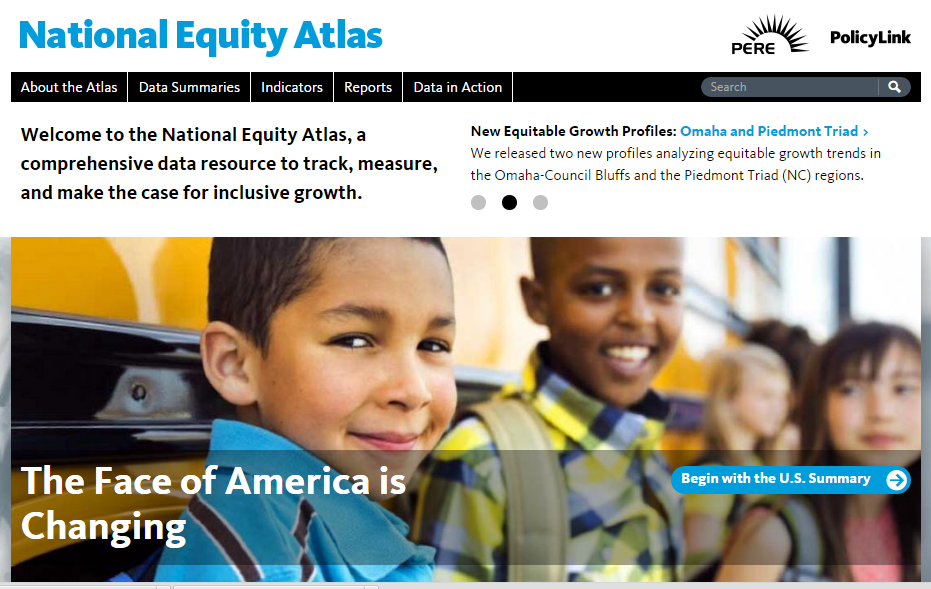 The Policy Link National Equity Atlas