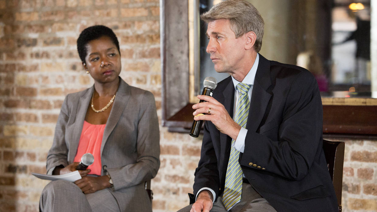 Ronda Jackson of Living Cities interviews former Mayor of Minneapolis, MN, R.T. Rybak.