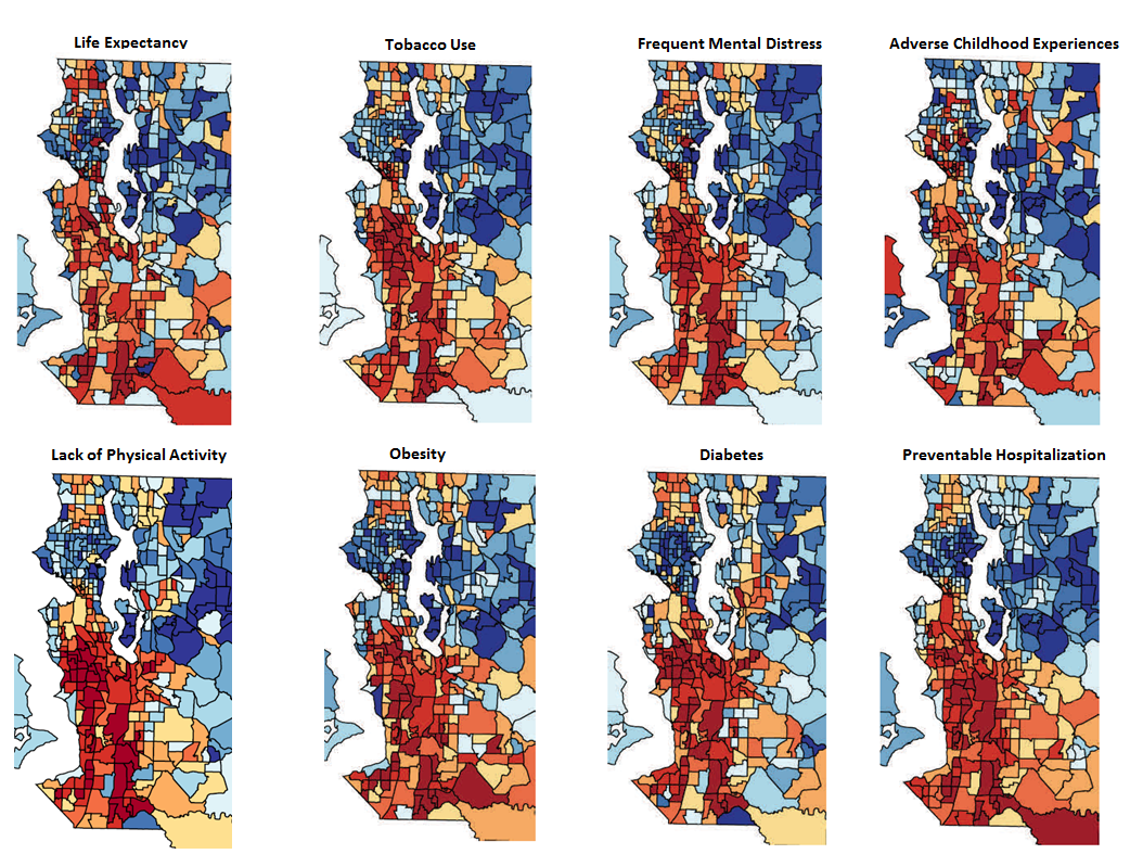 Maps of Seattle/King County