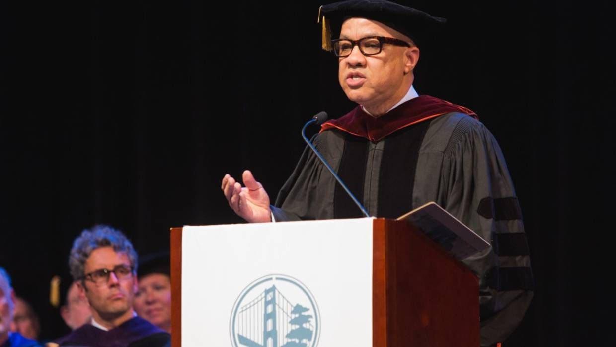 Darren Walker Addresses Presidio Grads 2015