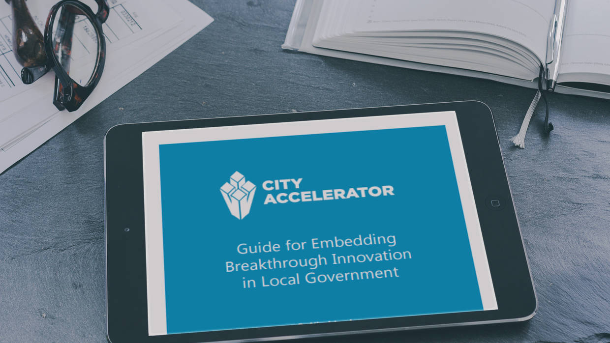 City Accelerator Guide Tablet Mockup
