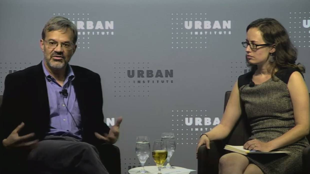 Urban Institute Panel featuring Rolf Pendall and Emily Badger