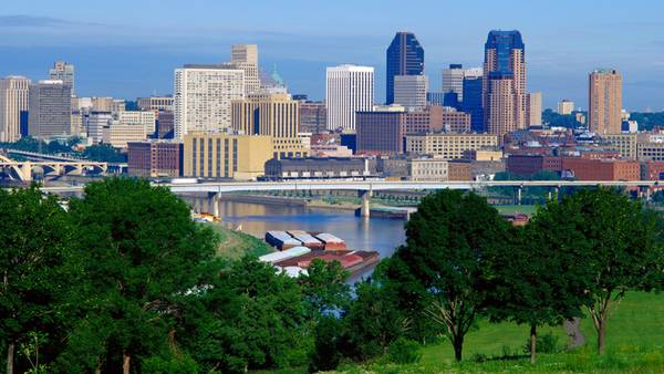 Skyline of St.Paul