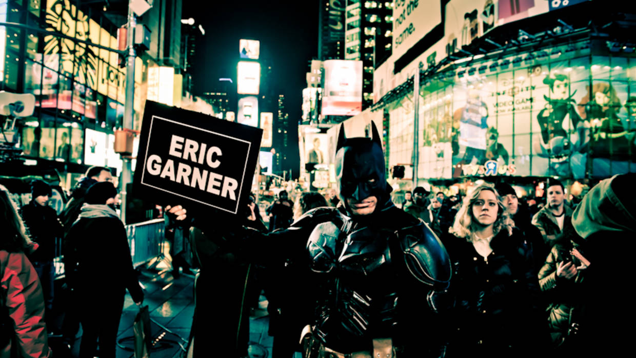 Saving Gotham: NYC Rally by Shawn Escoffery