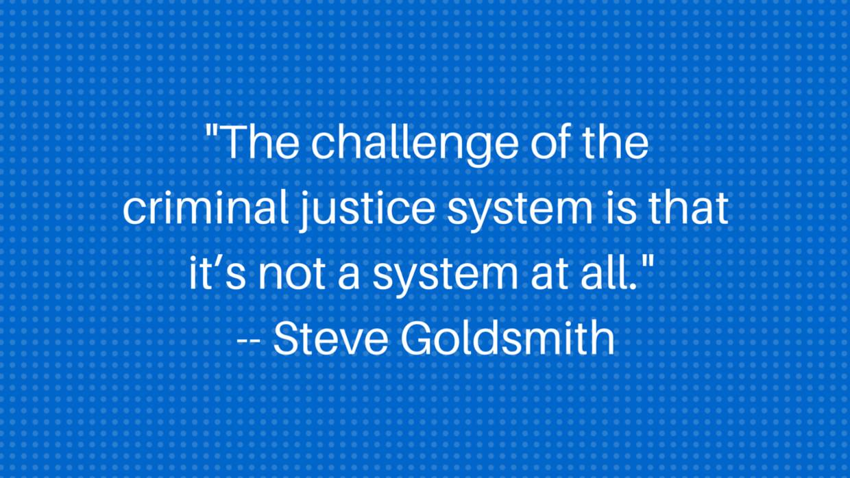 Quote: Steve Goldmsmith on Systems (PMI Sept 2015)
