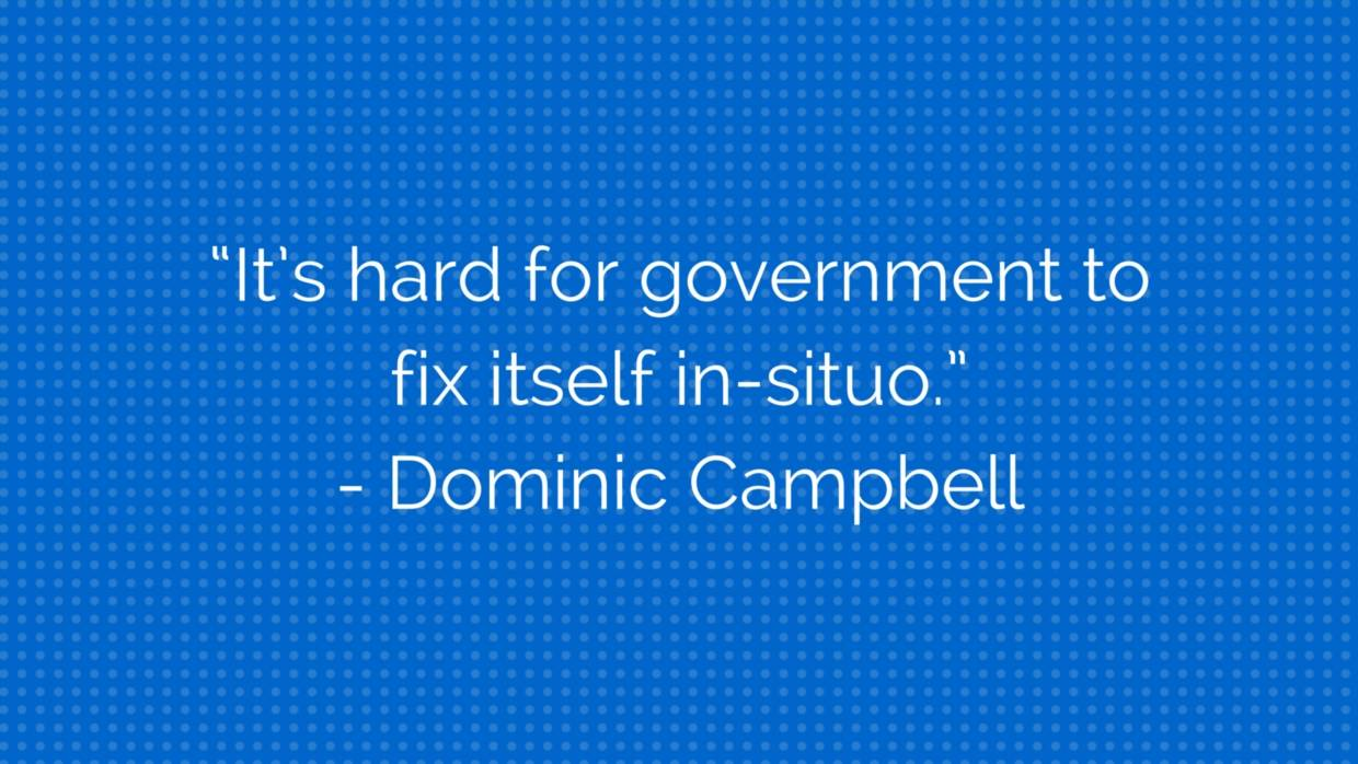 A Quote from Dominic Campbell at CityLab 2015