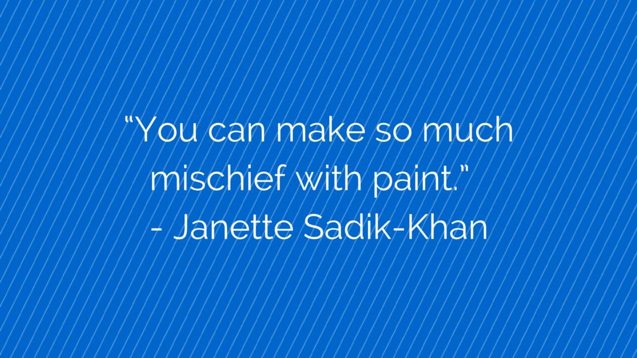 A quote form Janette Sadik-Khan at CityLab 2015.