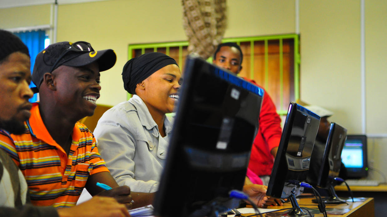 Youth Computer Training in South Africa