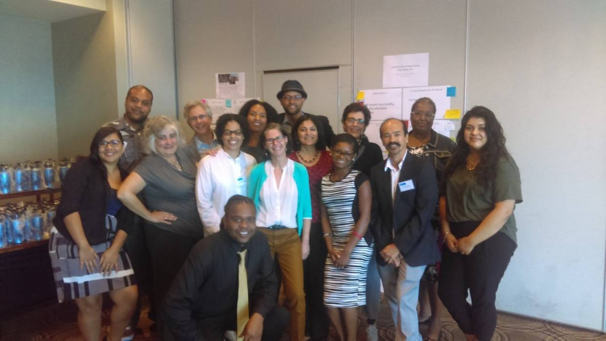 HOPESF Residents joined the Oct 2015 Integration Initiative Learning Community