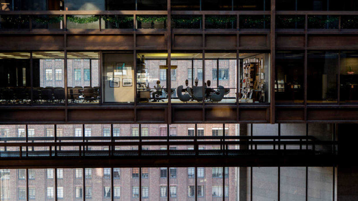Ford Foundation Building View, from the New York Times, December 2015