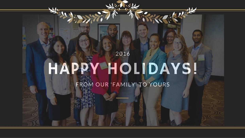 Happy Holidays 2015 - Staff Photo