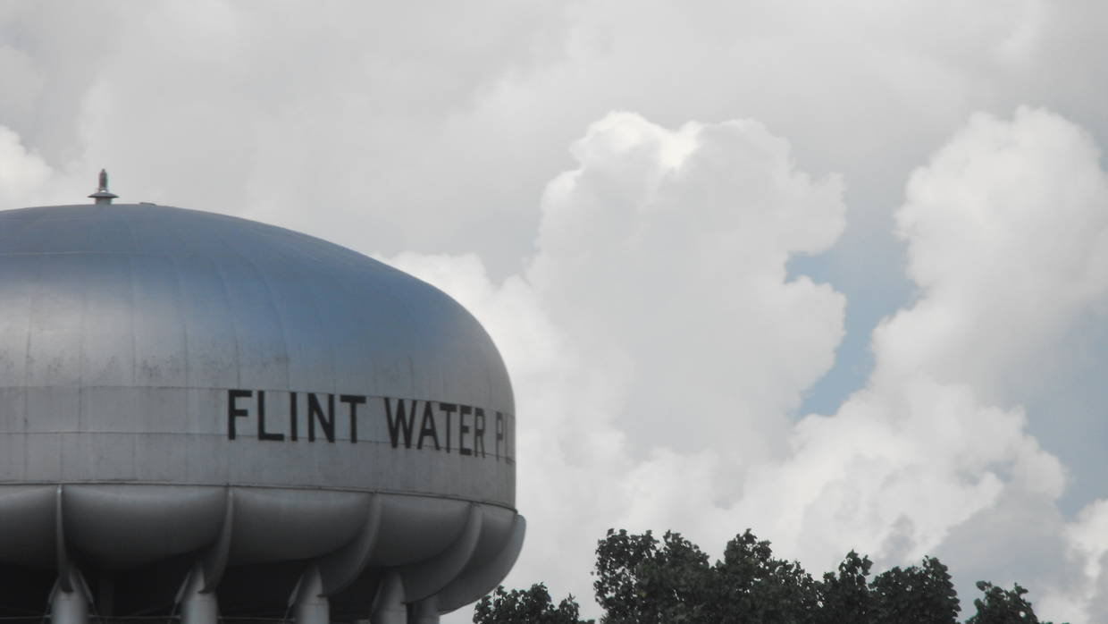 Flint, MI Water Tower