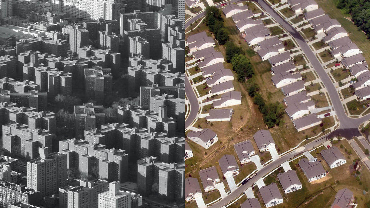Housing Then and Now Image from 25th Anniversary