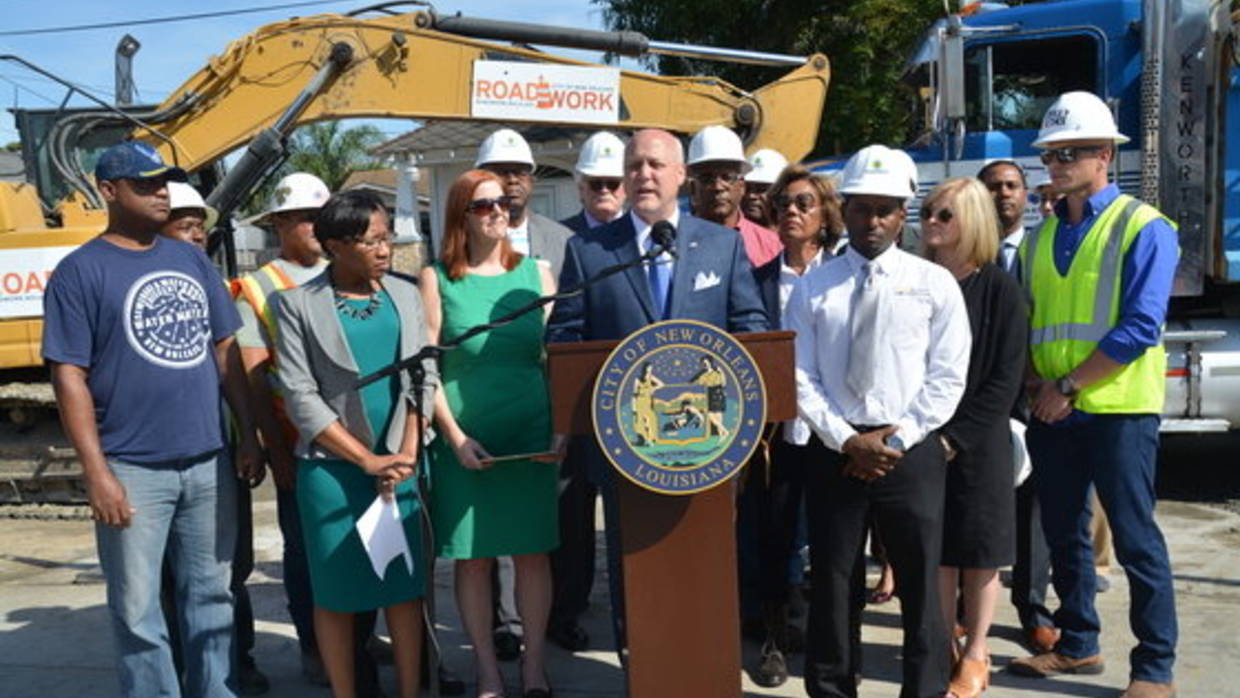 BuildNOLA Press Briefing with Mayor Landrieu