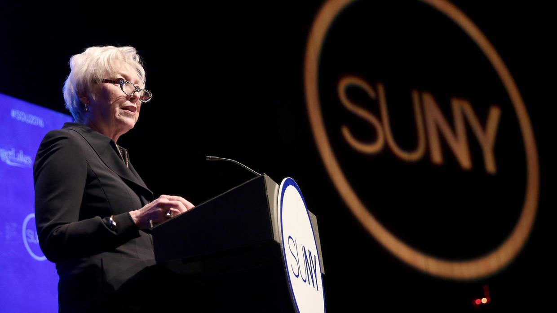 Nancy Zimpher speaks at SUNY