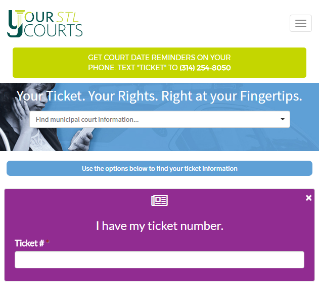 """The YourSTLCourts homepage."""