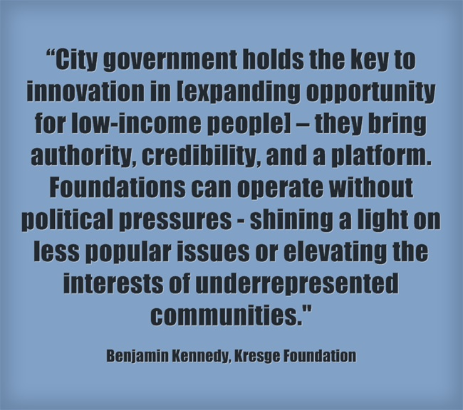 "\""Benjy-Kennedy-Kresge-Quote\"""